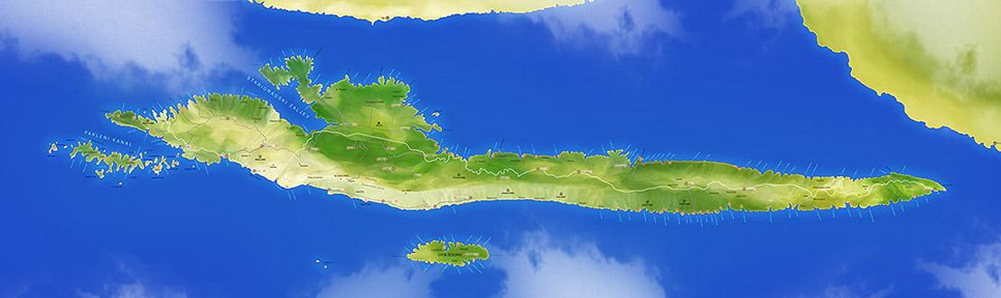 Mappa di Isola di Hvar